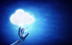 Cloud concept Stock Photography