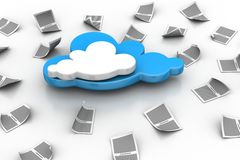 Cloud concept Royalty Free Stock Images