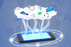 Cloud, Connecting World Stock Photos