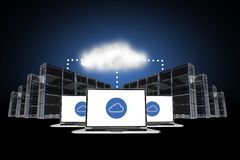 Cloud Connections stock illustration