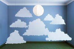 Cloud consumption sunbeam Stock Images