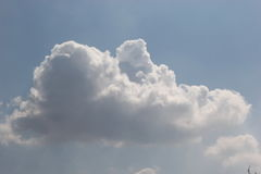 Cloud. Could are natural phenomenon beautiful Royalty Free Stock Photo