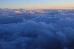 Cloud cover at dawn Royalty Free Stock Photography