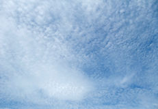 Cloud cover royalty free stock photography