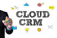 CLOUD CRM Stock Photography