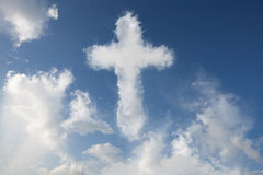 Cloud cross Stock Photos
