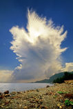 cloud cumulonimbusincusstigning Royaltyfria Bilder