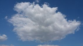 Cloud cumulus clouds of vertical development Royalty Free Stock Images
