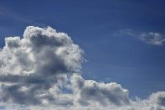 cloud cumulusu b??kit nieba white obrazy stock