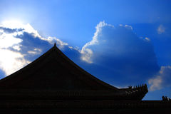 cloud dach Zdjęcia Royalty Free