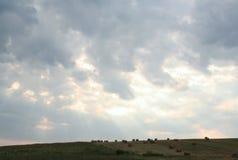 cloud dark Arkivbilder