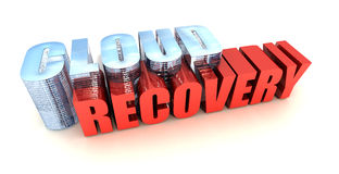 Cloud Data Recovery Stock Photo
