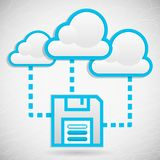 Cloud Data Storage Royalty Free Stock Photos