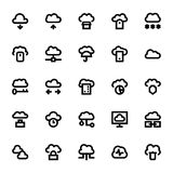 Cloud Data Technology Vector Icons 1. Cloud Data Technology Vector Icons for your personal files, entertainment, work, music, movies and more. Storage is now in Stock Photos