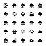 Cloud Data Technology Vector Icons 1 Royalty Free Stock Image