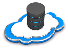 Cloud Database Royalty Free Stock Photo