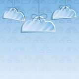 Cloud decoration background Stock Photography