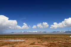 Cloud Desert Royalty Free Stock Photo