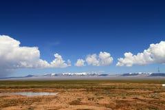 Cloud desert royalty free stock photo