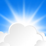 Cloud design Stock Photography