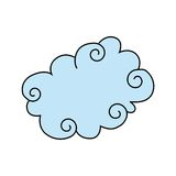 Cloud design Royalty Free Stock Photo