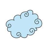 Cloud design Royalty Free Stock Photo
