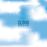 Cloud design. Wheater icon. Colorful illustration Royalty Free Stock Images