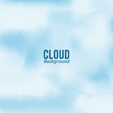 Cloud design. Wheater icon. Colorful illustration Stock Image