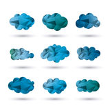 Cloud design. Wheater icon. Colorful illustration Royalty Free Stock Photo