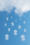 Cloud dollar Stock Photos