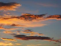 cloud dramatyczny niebo Zdjęcia Stock