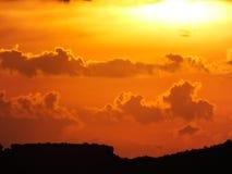cloud dramatyczny niebo Obraz Stock