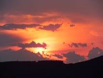 cloud dramatyczny niebo Fotografia Stock