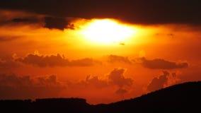 cloud dramatyczny niebo Zdjęcie Royalty Free
