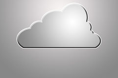 Cloud Drive Icon Royalty Free Stock Photo
