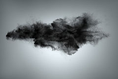 Cloud of dust abstract background Stock Image