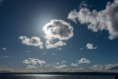Cloud Eclipse Royalty Free Stock Images