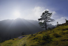 Cloud End in Uttarakhand Royalty Free Stock Image
