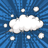 Cloud explosion Royalty Free Stock Images