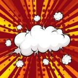 Cloud explosion Stock Photos
