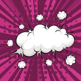 Cloud explosion Stock Photography
