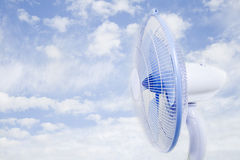 Cloud fan Stock Photography