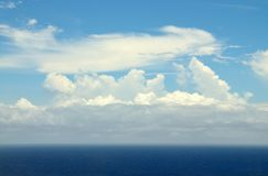 Cloud fluffiness Royalty Free Stock Image