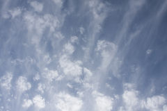 Cloud flurry Stock Photography