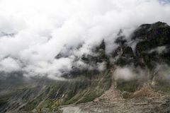 Cloud and fog around mountain Royalty Free Stock Photography