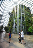 Cloud Forest at Gardens by the Bay on May Royalty Free Stock Image