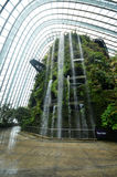 Cloud Forest at Gardens by the Bay in Singapore Royalty Free Stock Images