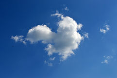 Cloud in the form of heart Stock Photography