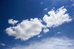 Cloud formation. Royalty Free Stock Photos