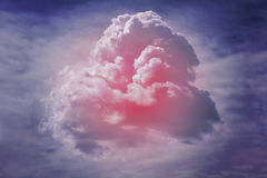 Cloud formation Royalty Free Stock Image
